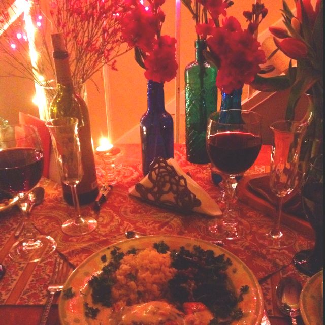 romantic date night dinner at home empty nesters pinterest