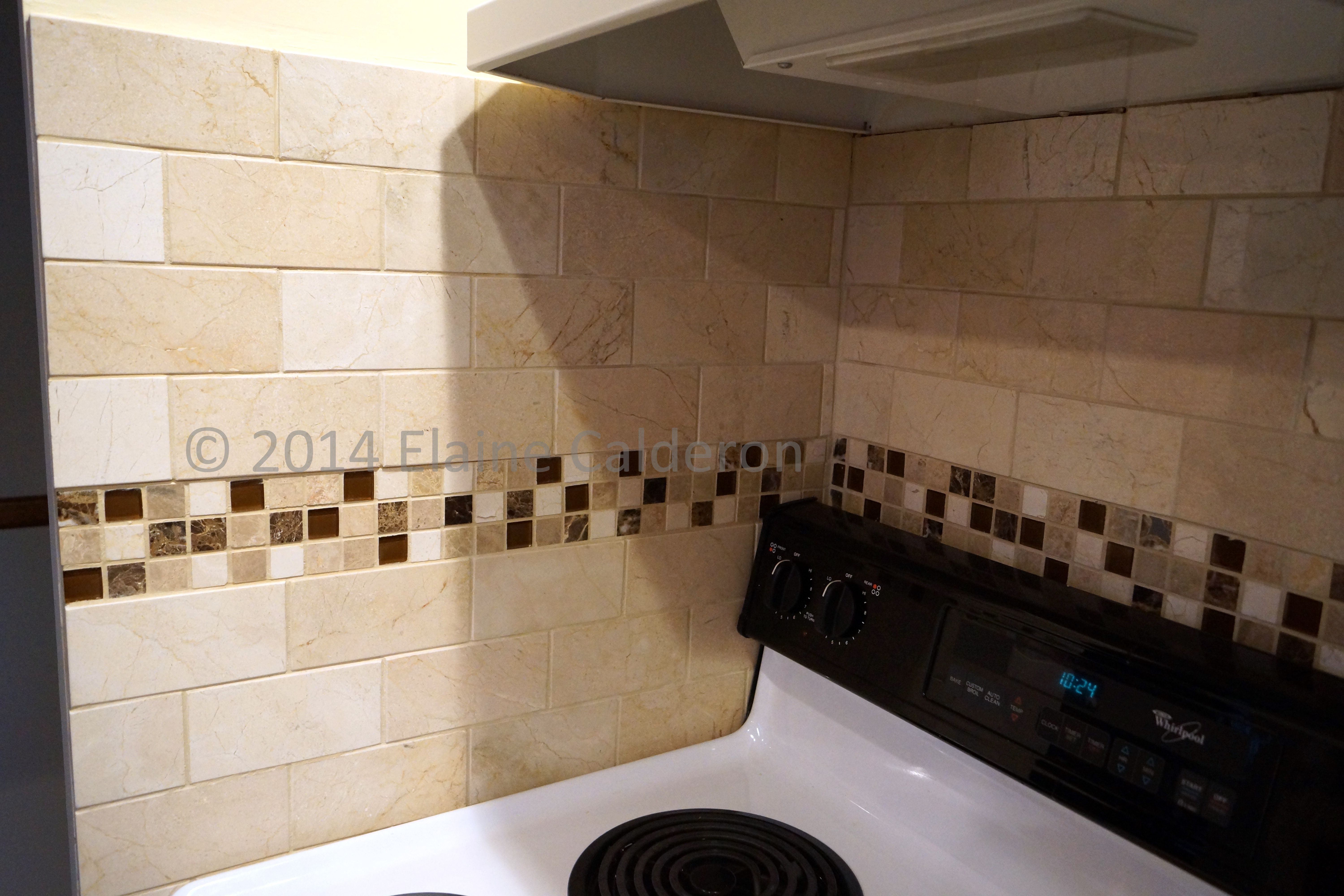 natural stone tile backsplash decor pinterest