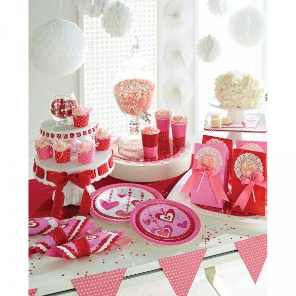 Valentinstag Party Deko Ideen | Valentinstag | Pinterest