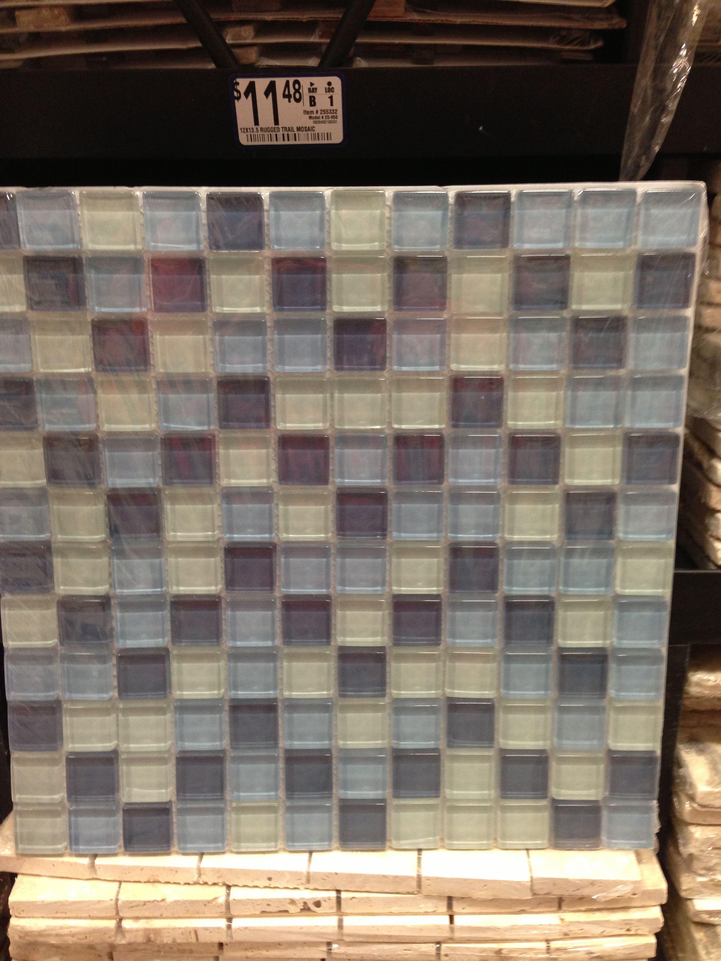sea glass colored tile backsplash home pinterest