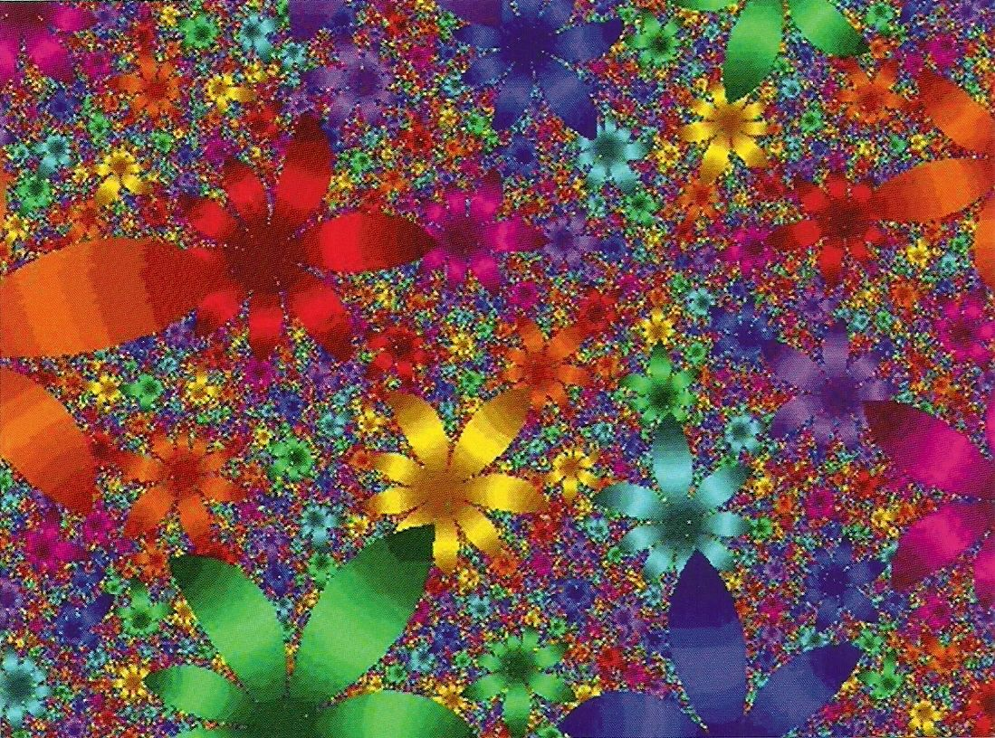 Fractal Colorful Things Pinterest