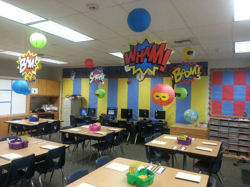Super Heroes Decor For Classroom ~ Superhero classroom ideas pinterest