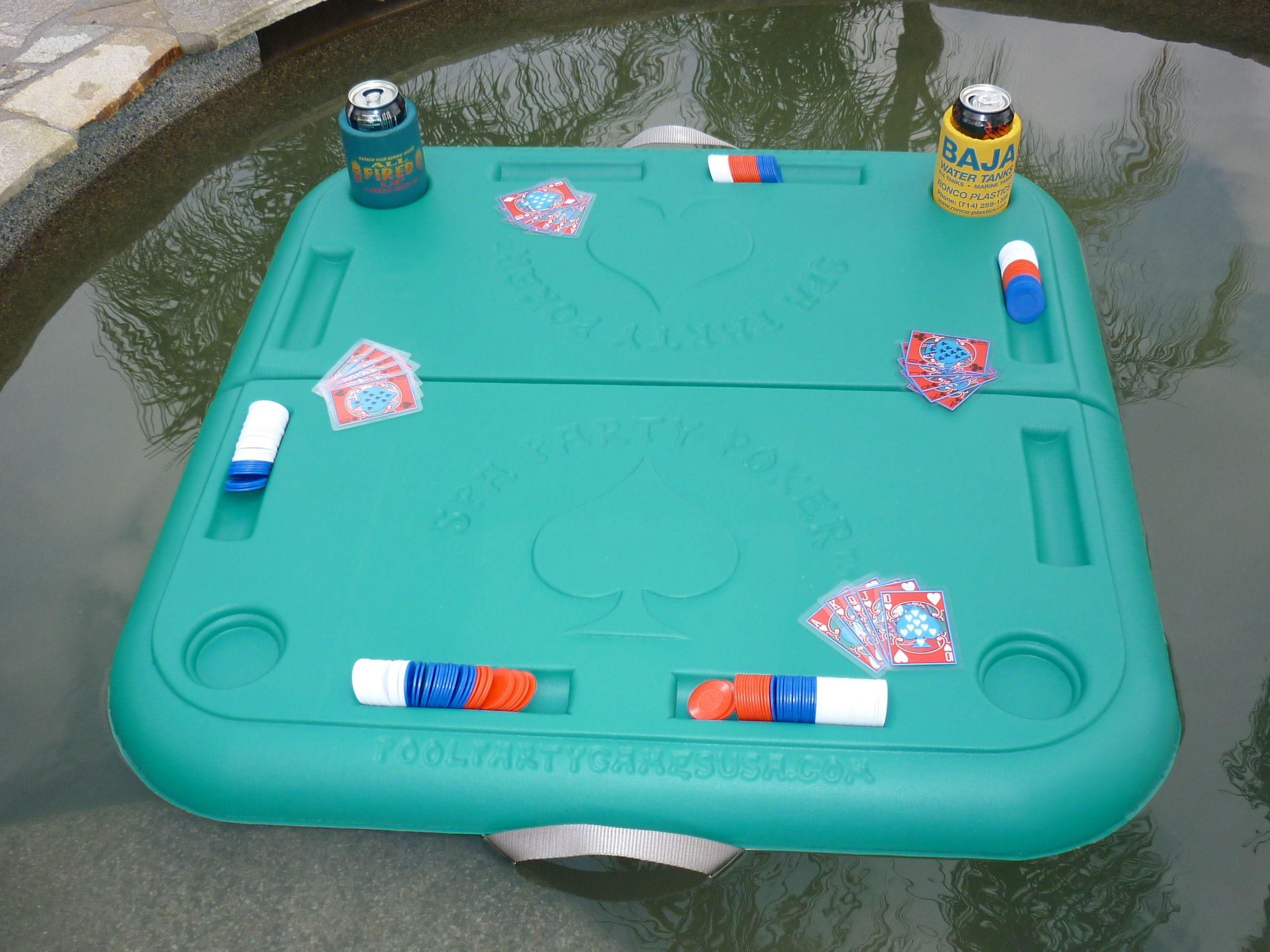 Poker float