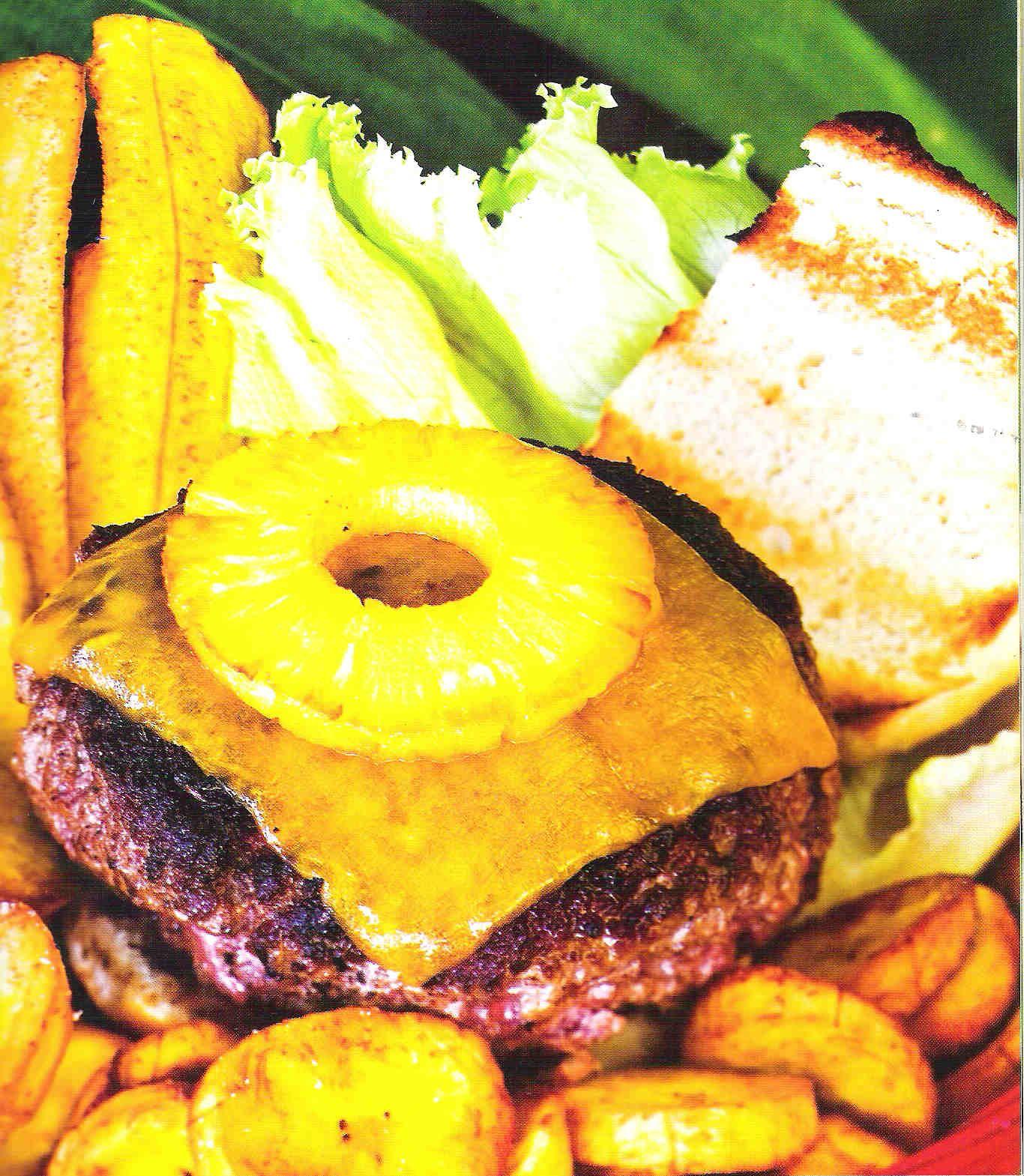 Jamaican Burgers Recipe — Dishmaps