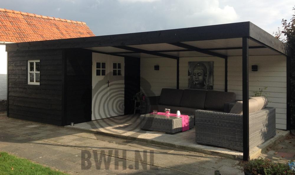 Waterdichte Wanden : Dit tuinhuisje is gemaakt van Zweedse rabatdelen ...