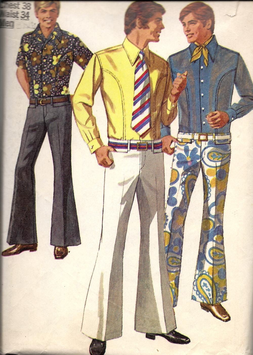 60 s men fashion-Love those 60s colors! Vintage chic Pinterest 65