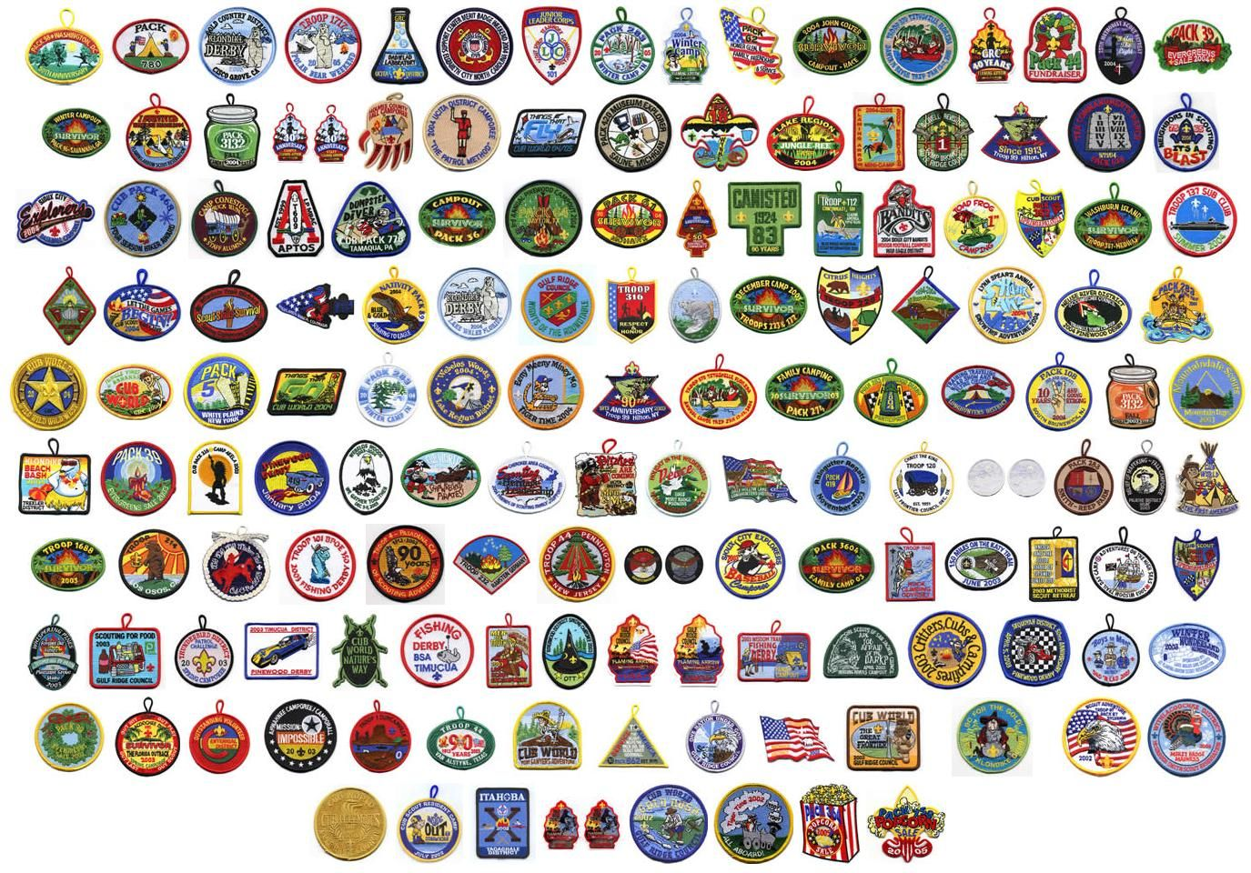 Girl scout fun patches 2014 nba