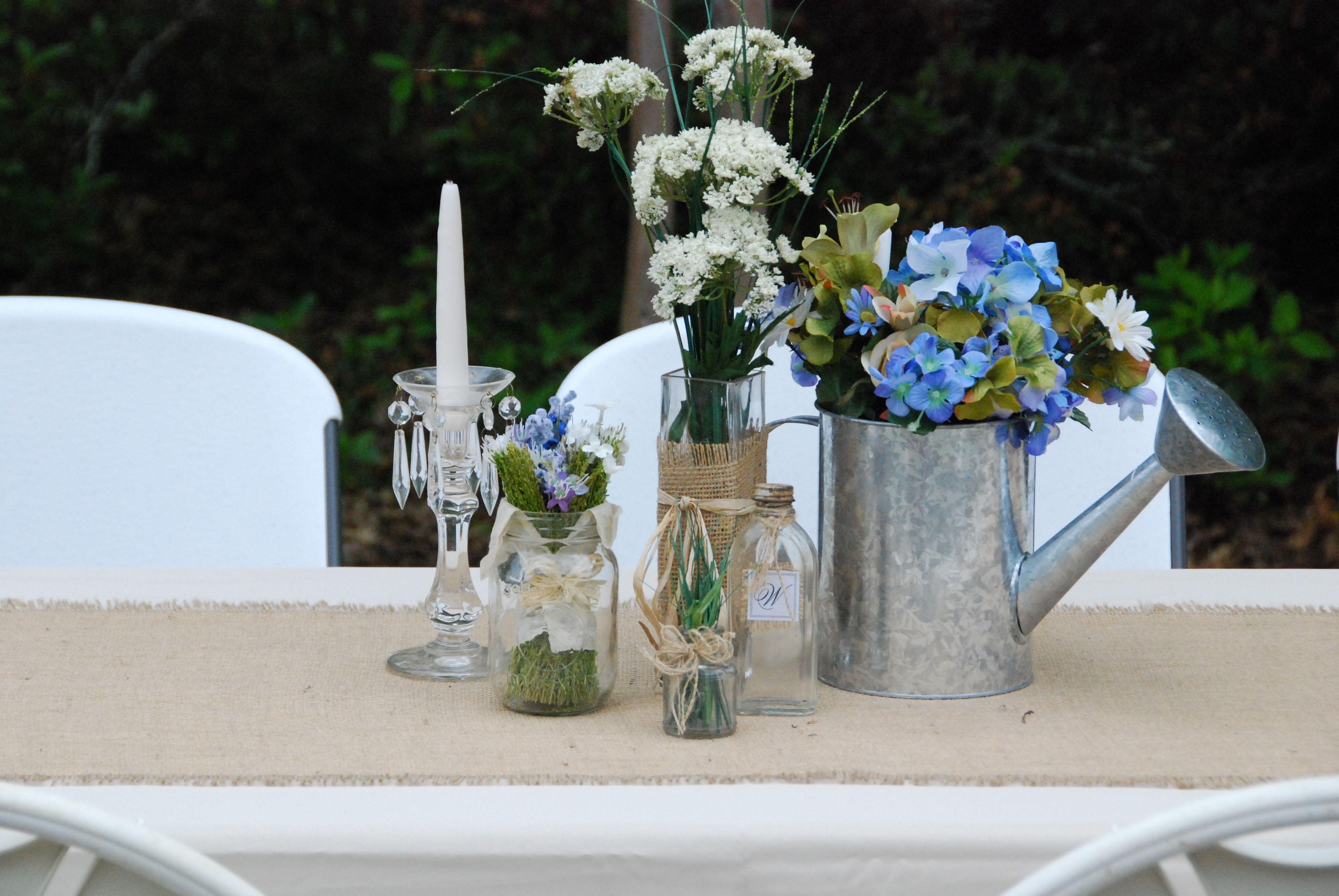 Wedding reception flowers shabby chic wedding ideas for Shabby chic wedding reception decorations