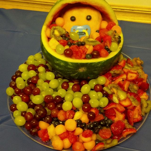 baby shower fruit platter party ideas pinterest
