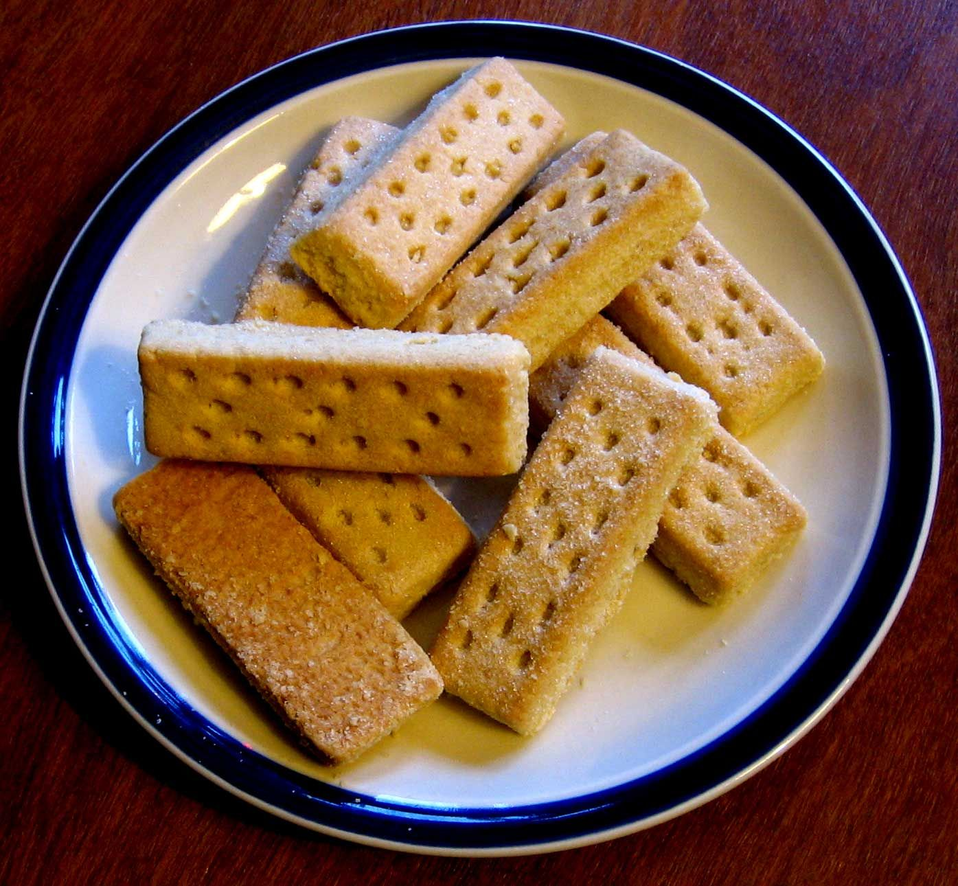 Pictures of shortbread cookies Buttered Rum Butter Cookies - Wicked Good Kitchen
