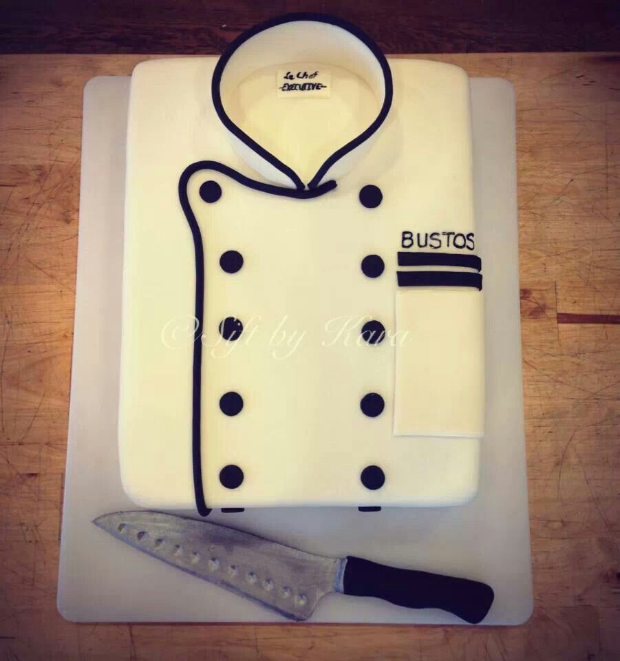 Cake Ideas For A Chef : Chef cake Yummy... Pinterest