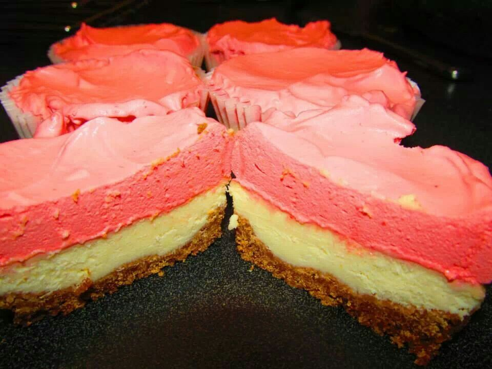 Cherry Creamsicle cheesecake | RECIPES ~ Cheesecakes | Pinterest
