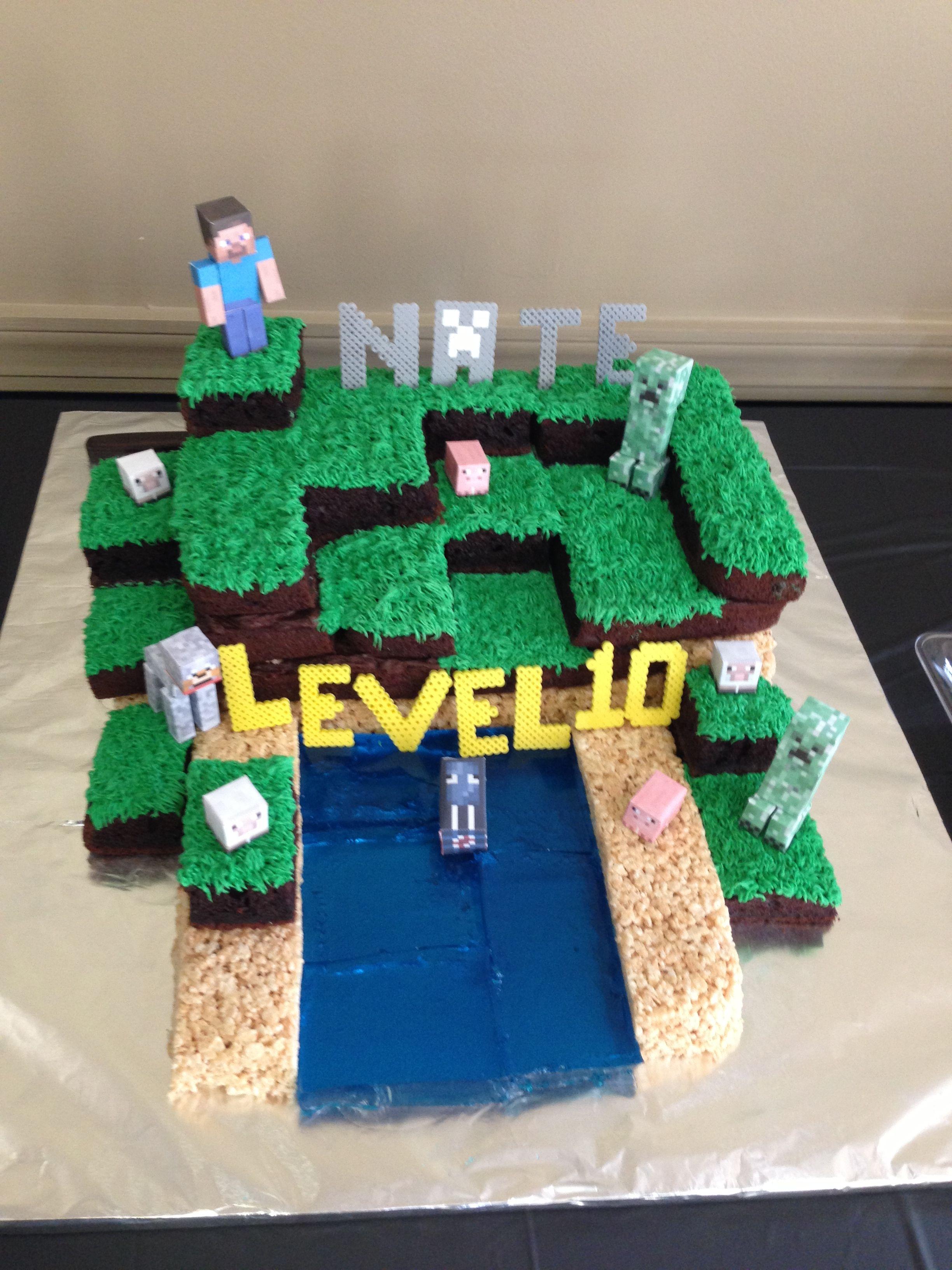 Minecraft Cake Decorations 28 Images Cakes