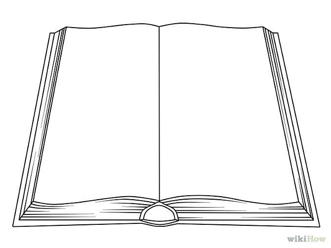 Как сделать рисунок на книгу