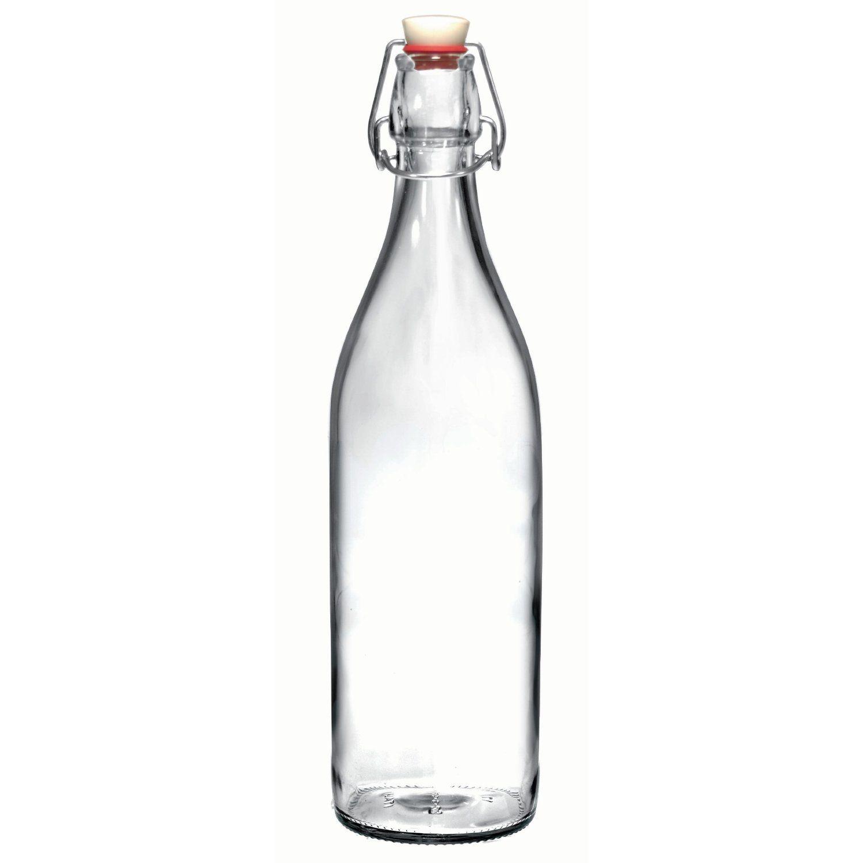 Pinterest Reusable Glass Water Bottle