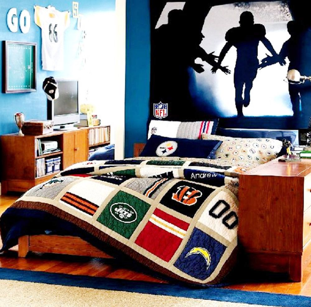 football boy 39 s bedroom ideas pinterest