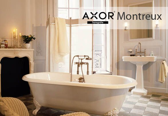Axor Montreux Axor Montreux Discover through classic lavatory faucet bimando that takes us back in time to the early twentieth century, the time of the industrial revolution.