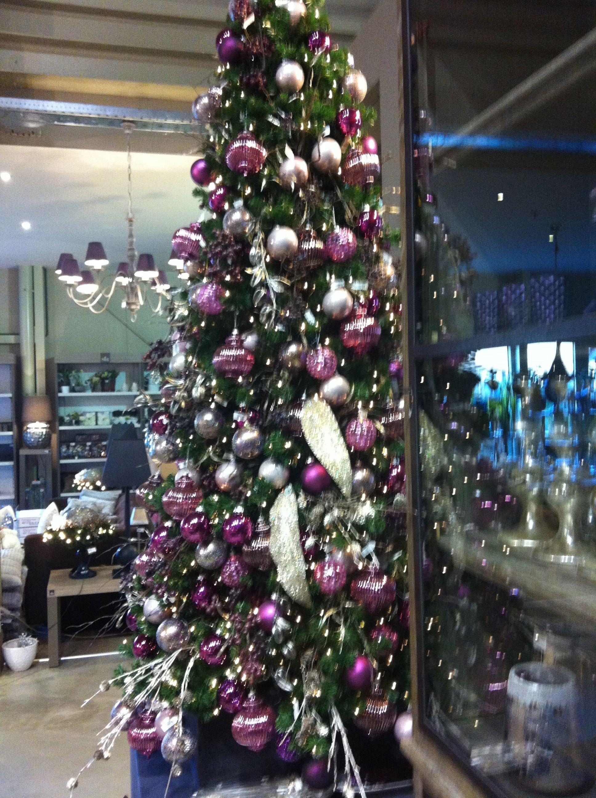 purple christmas tree o tannenbaum pinterest