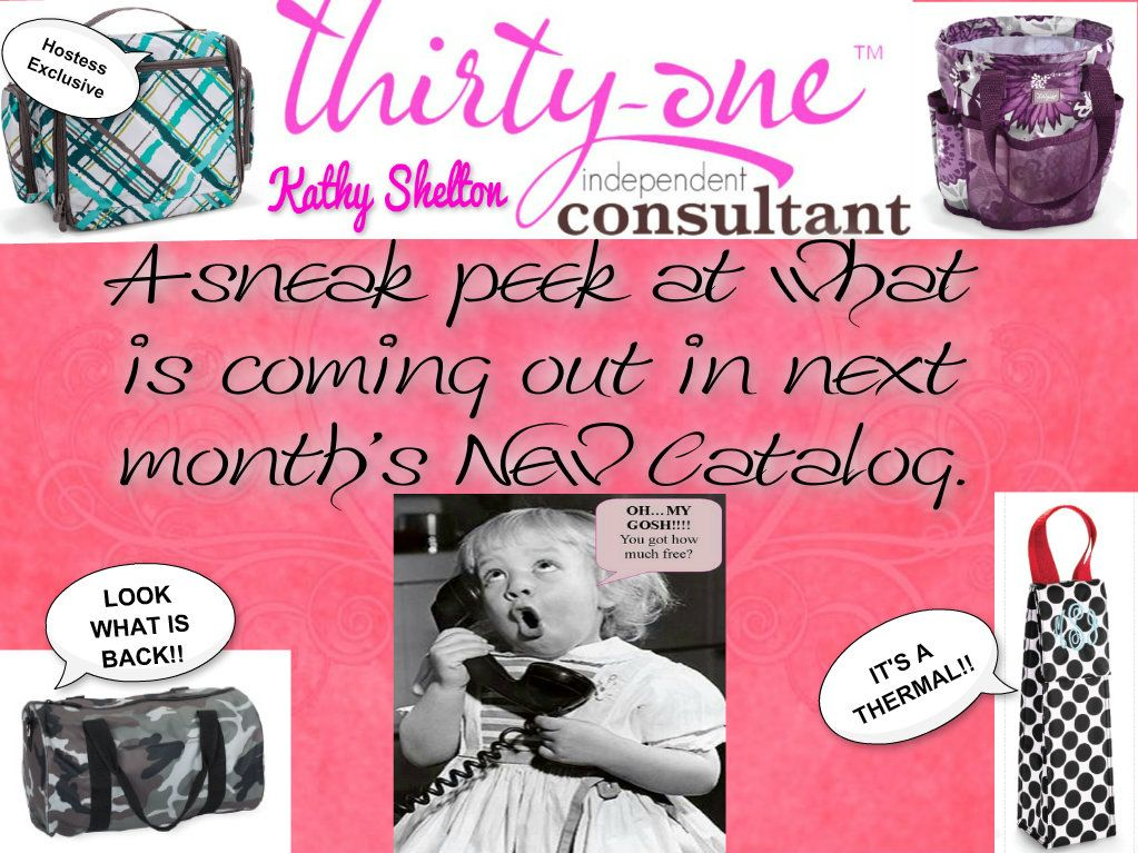 New Thirty-One Fall Catalog 2013