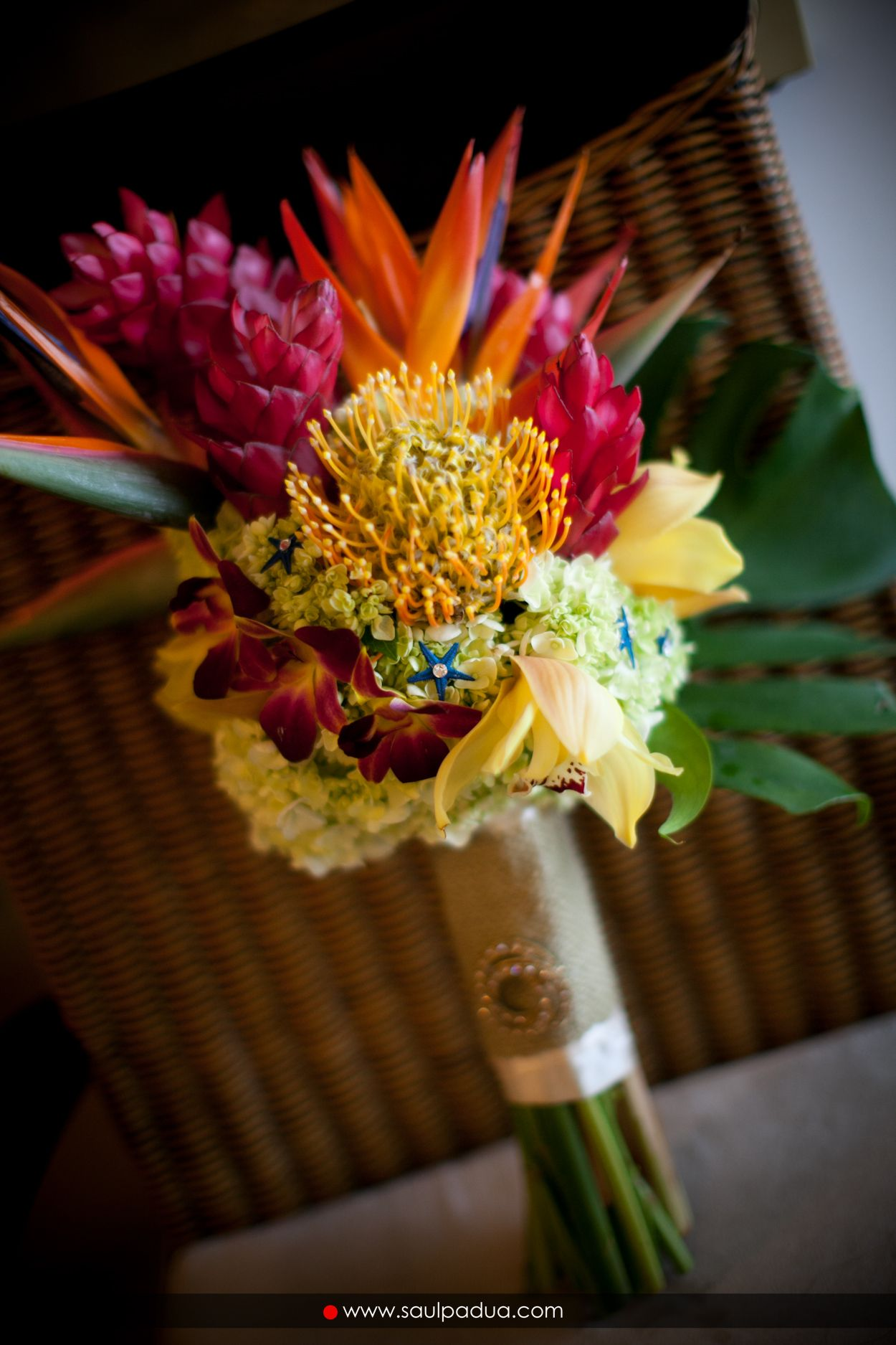 Birds of paradise flower wedding bouquet - animalcarecollege.info