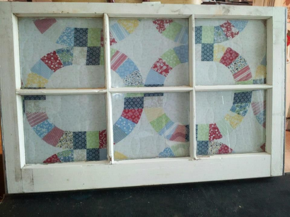 Old windows craft ideas pinterest for Old window craft projects