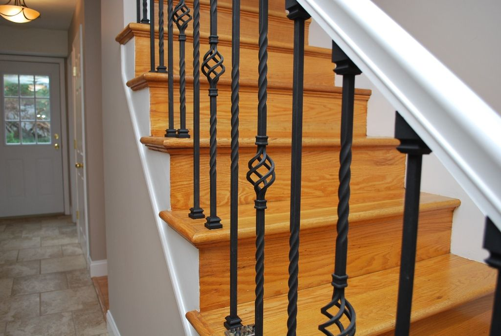 Wrought Iron Stair Balusters For The Home Pinterest