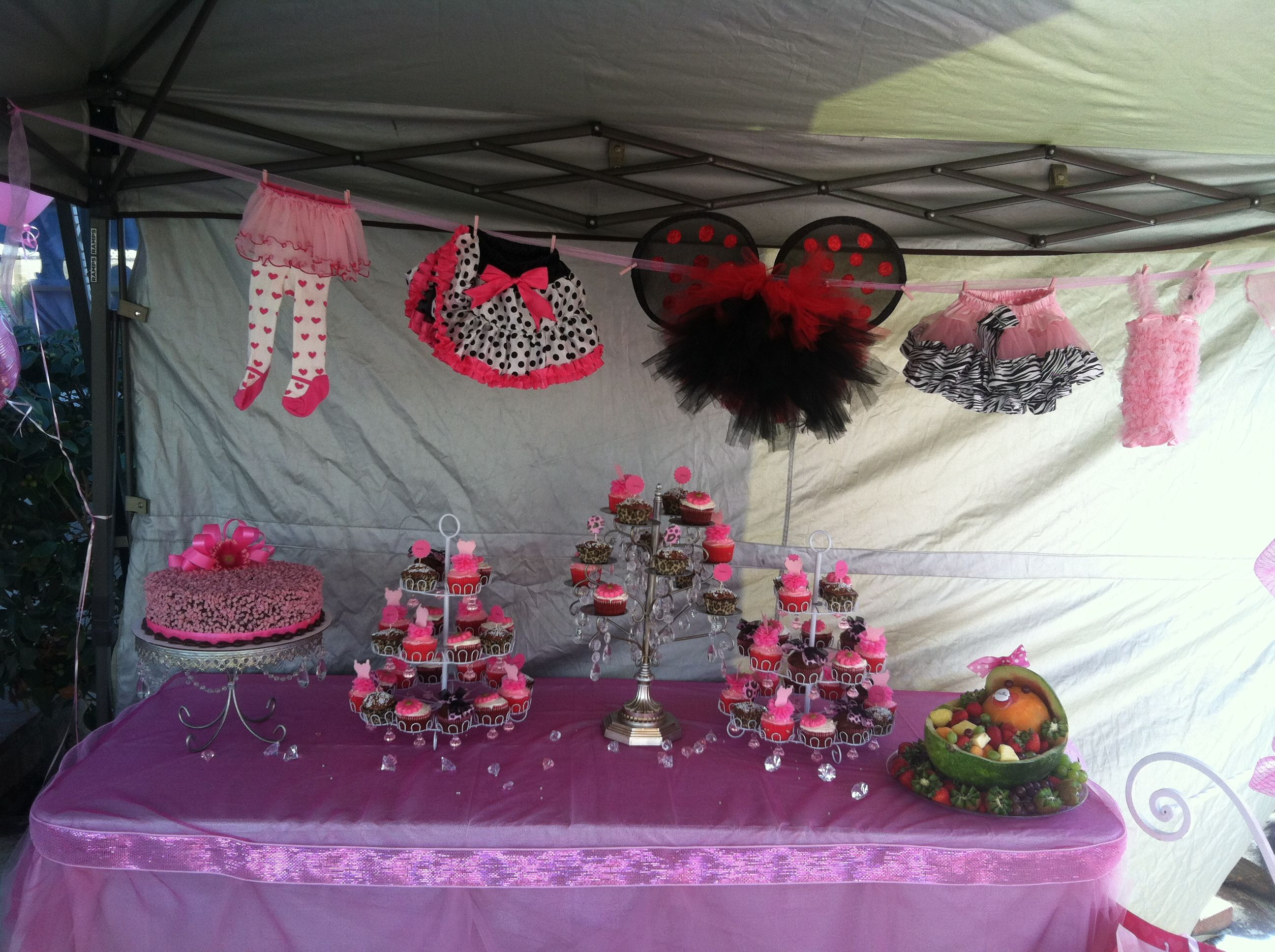 tutu baby shower theme baby shower ideas pinterest