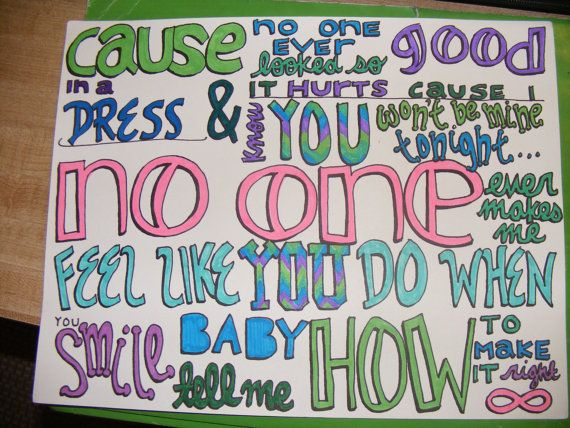 One Direction Lyric Drawings  Polyvore