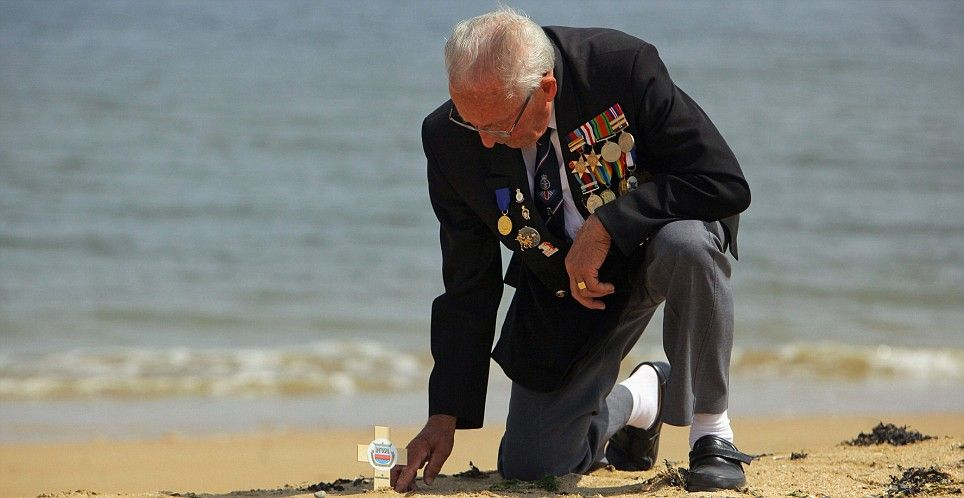 60th anniversary of d-day normandy