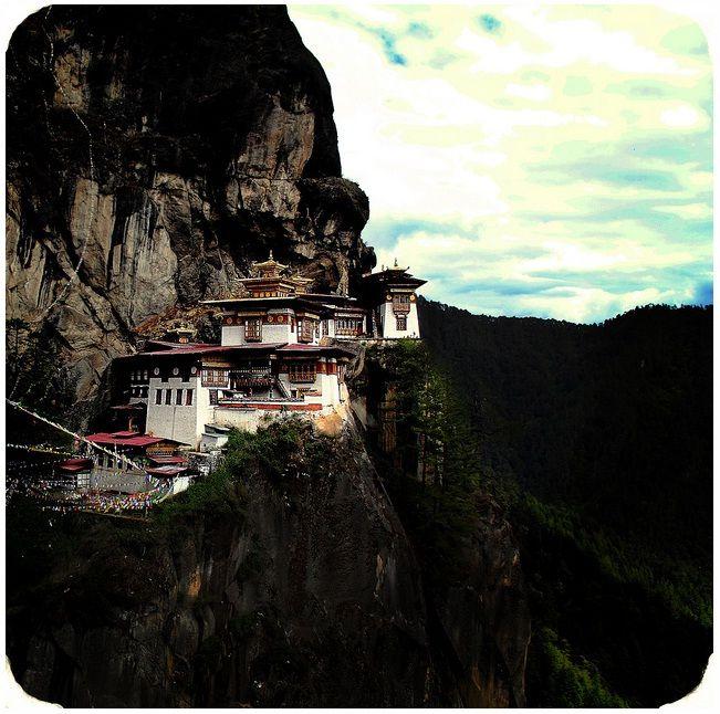 Mosteiro no Butão