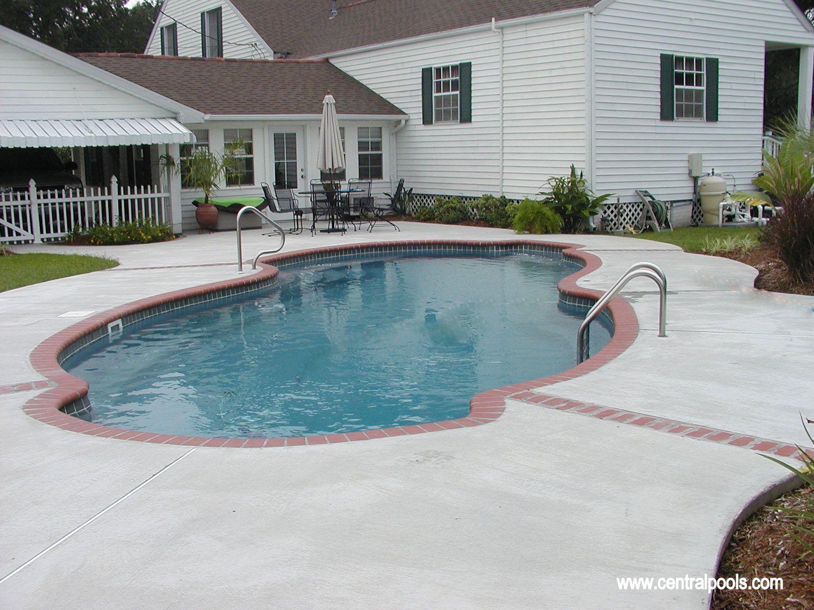 Fiberglass Swimming Pool Home Beautiful Pinterest