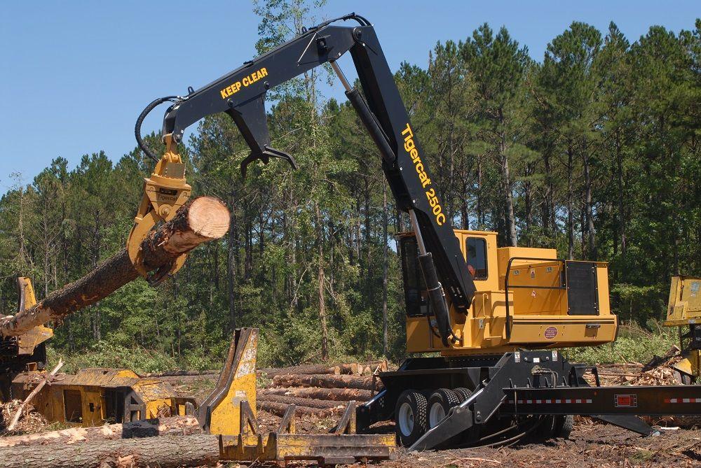 Tigercat 250C Loader | Heavy Equipment | Pinterest