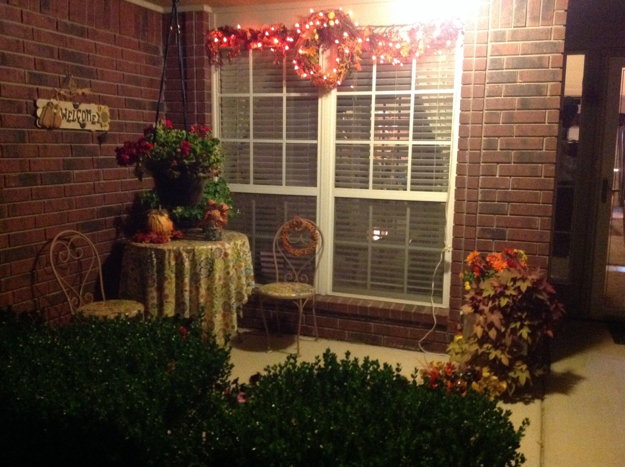 Fall Porch Decor Decorating Ideas Pinterest