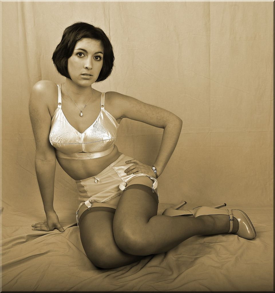 Vintage girdle porn