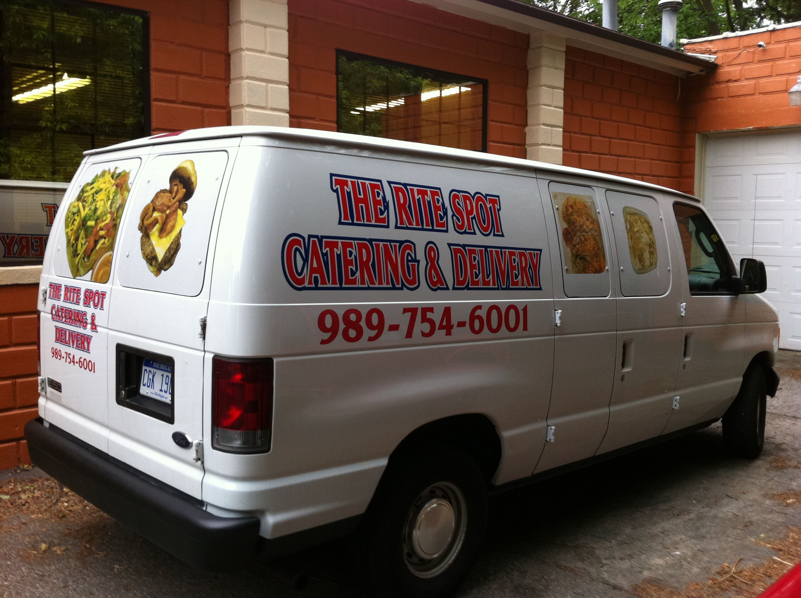 catering delivery van delivery vans trucks pinterest. Black Bedroom Furniture Sets. Home Design Ideas