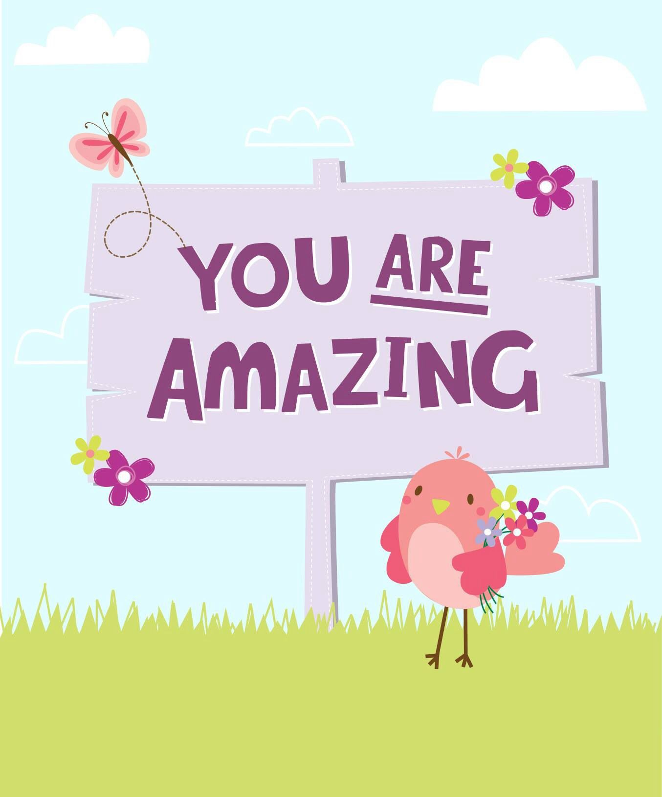 You Are Amazing: Extraordinary Words
