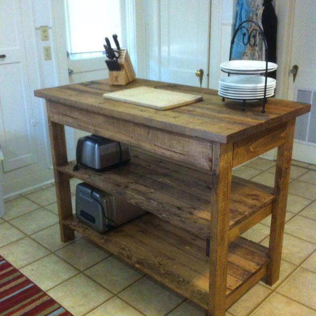 Kitchen Island Designs Diy: My New DIY Kitchen Island.