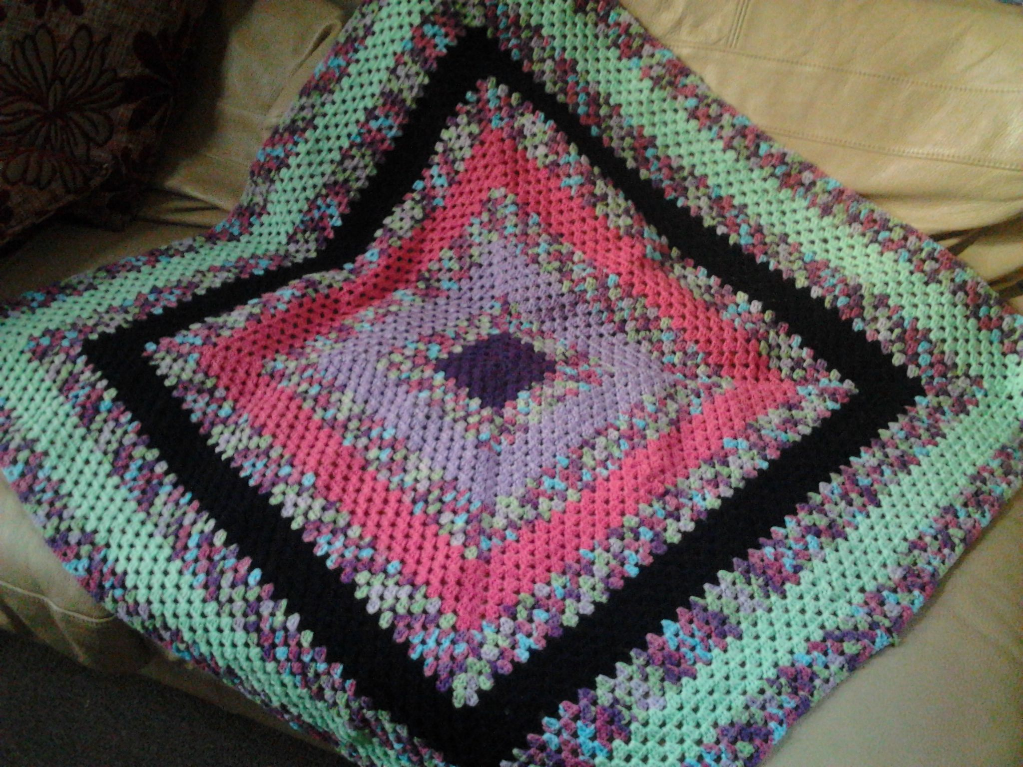 Crochet Lap Blanket : Lap blanket Crochet Crafts Pinterest