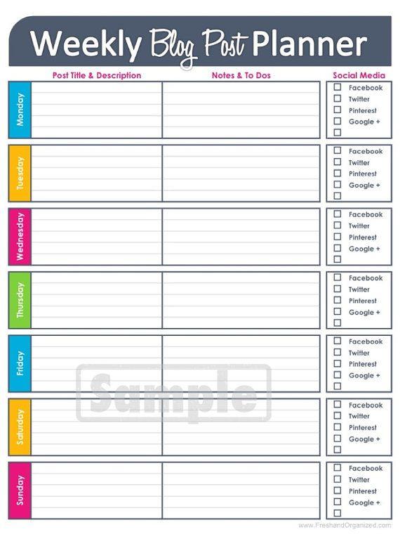 Weekly Calendar Printable Worksheets - weekly calendar printable ...