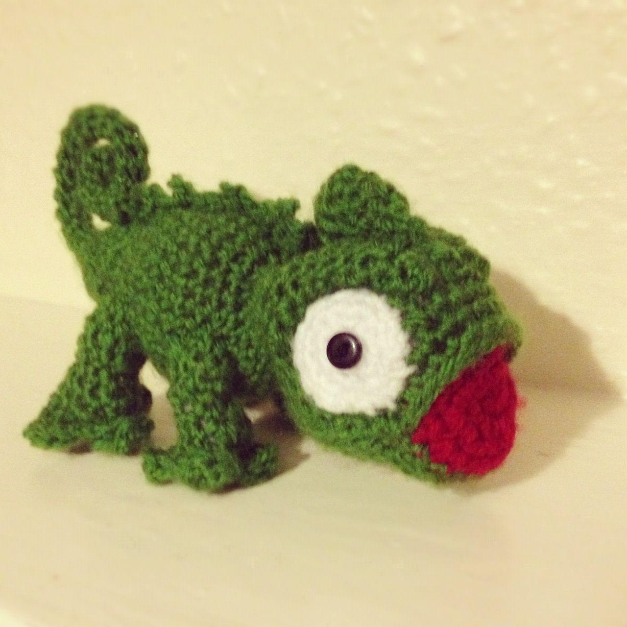 Crochet Chameleons : Crochet chameleon TouchE Crochet Pinterest