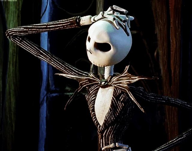 Thinking time. | Nightmare Before Christmas | Pinterest