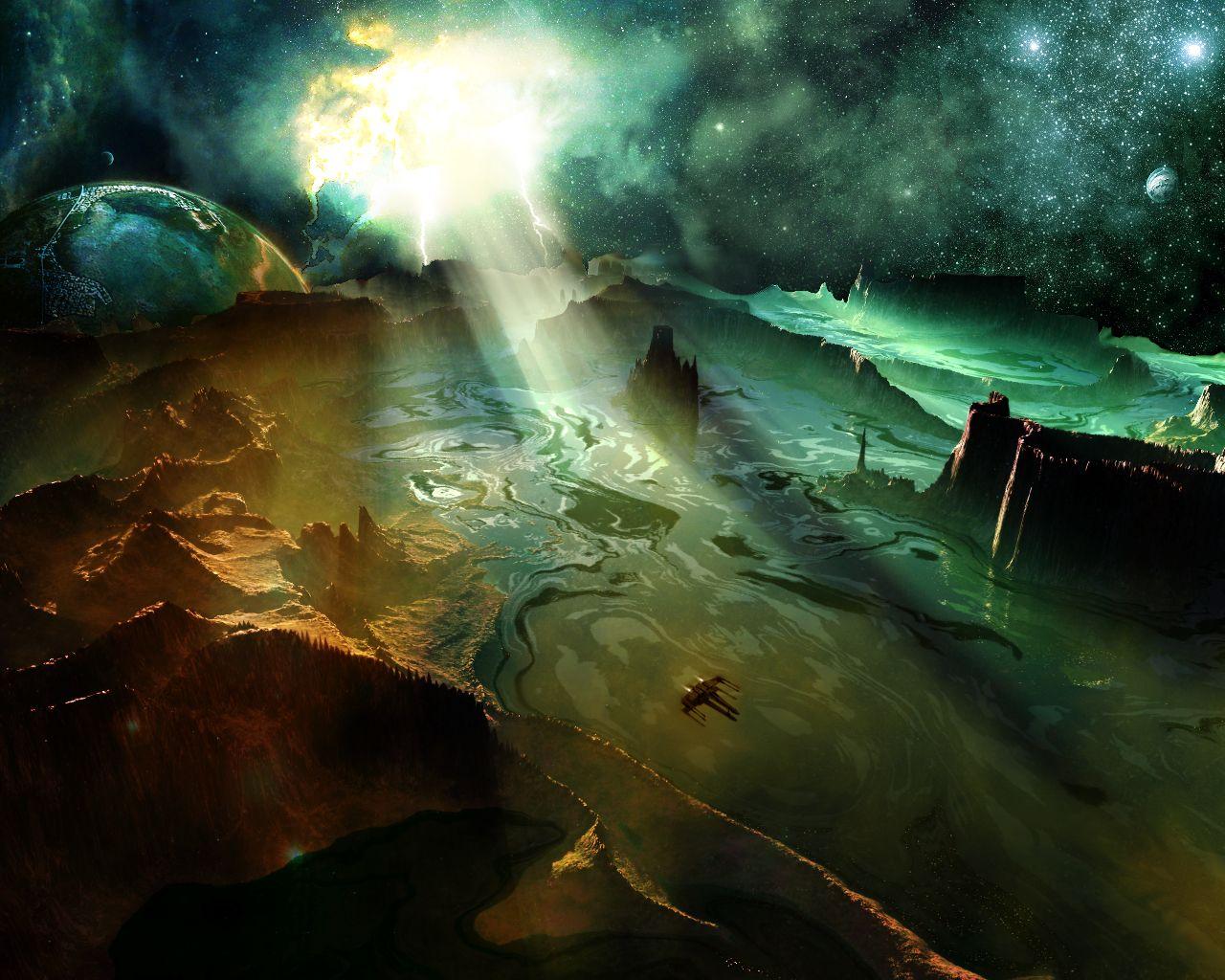 sci fi backgrounds - photo #28