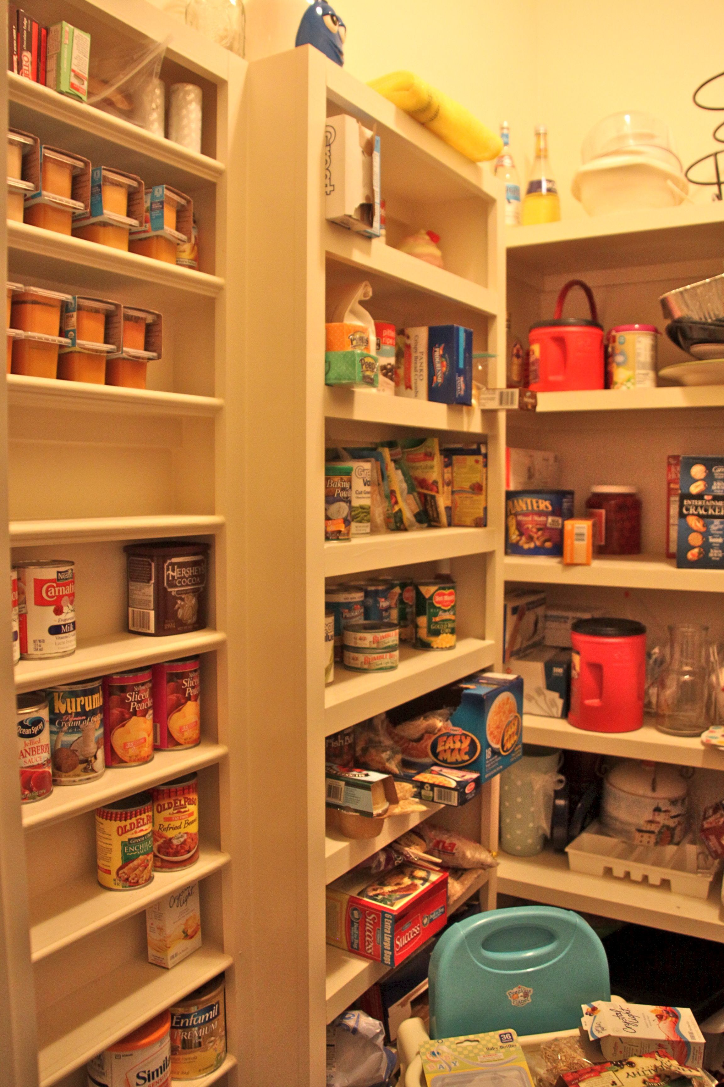 Walk in pantry kitchen ideas pinterest for Walk in pantry