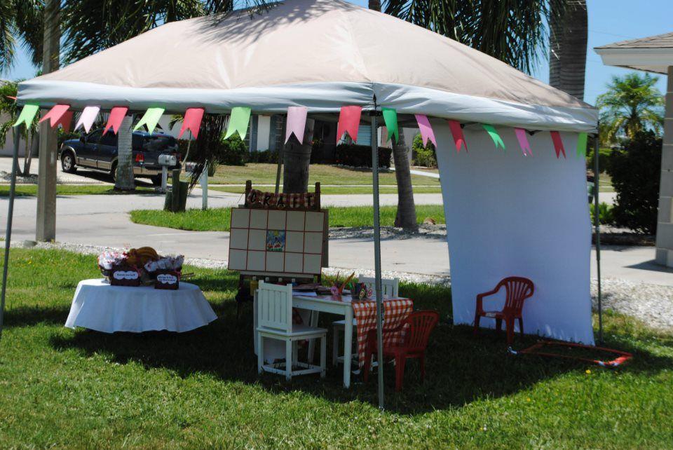 craft tent | DIY CRAFT SHOW DISPLAY AND SET-UP IDEAS | Pinterest