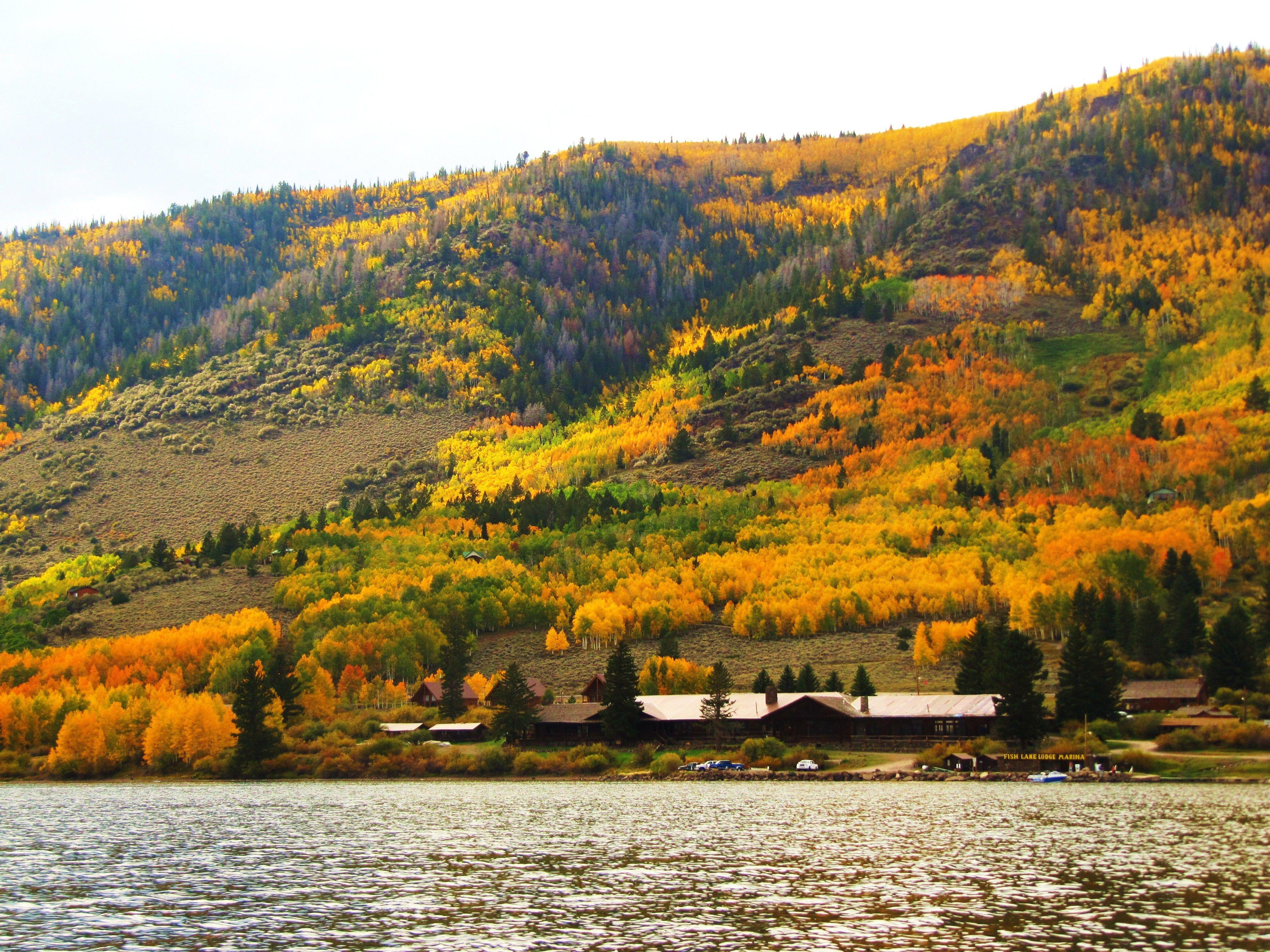 Fish lake utah in late september 2012 favorite places for Fish lake utah