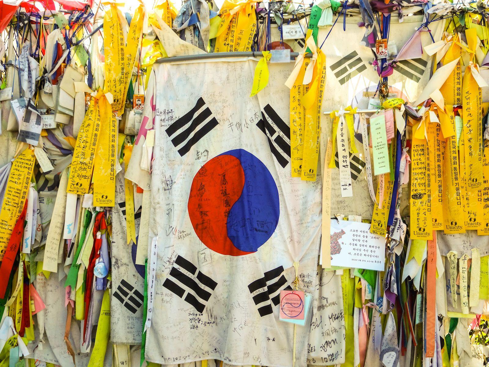flag of s korea