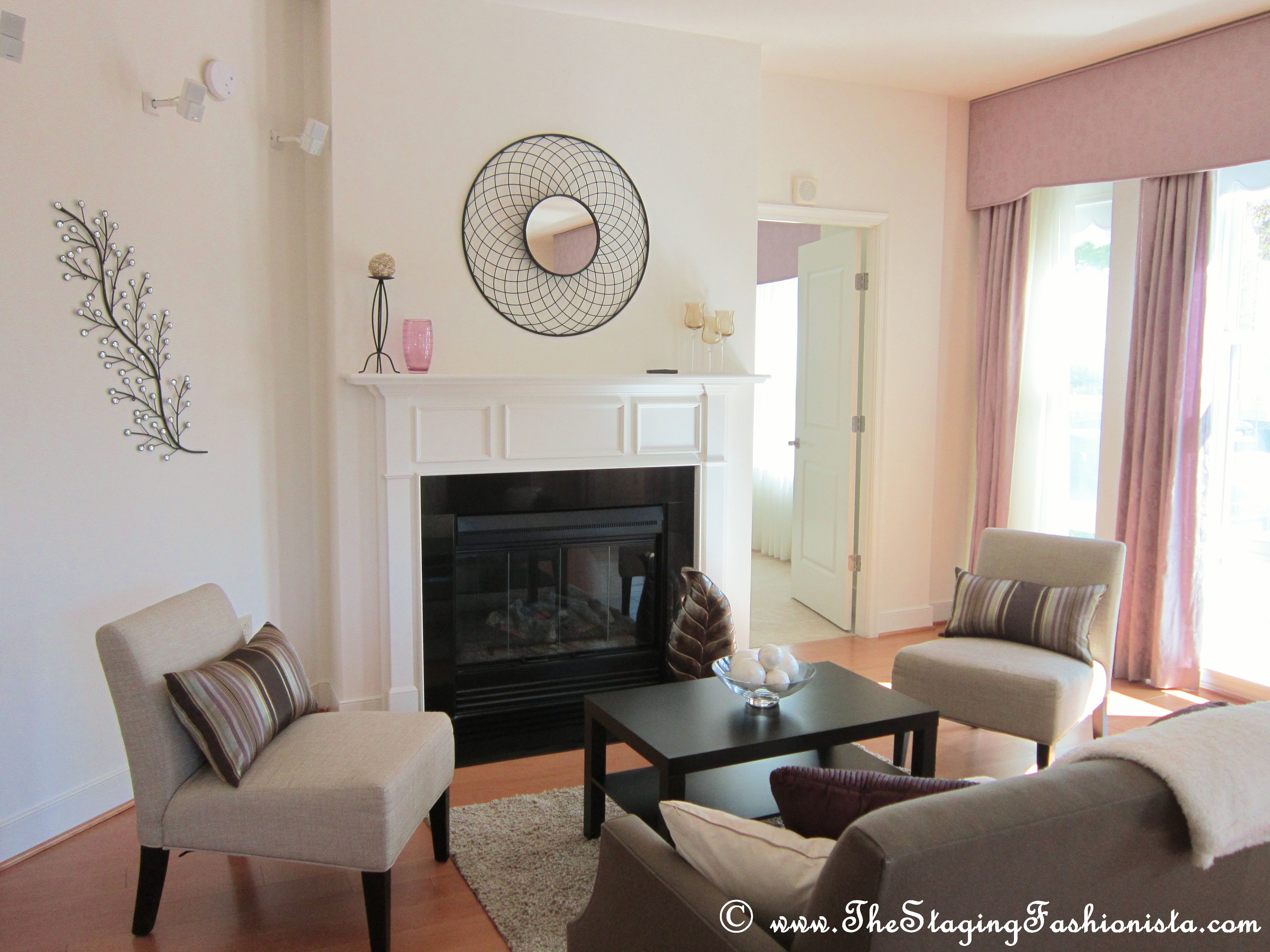 condo living room home staging ideas pinterest