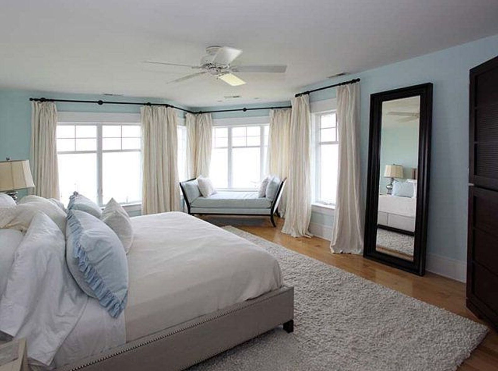 Blue and Brown bedroom | Gorgeous bedrooms | Pinterest