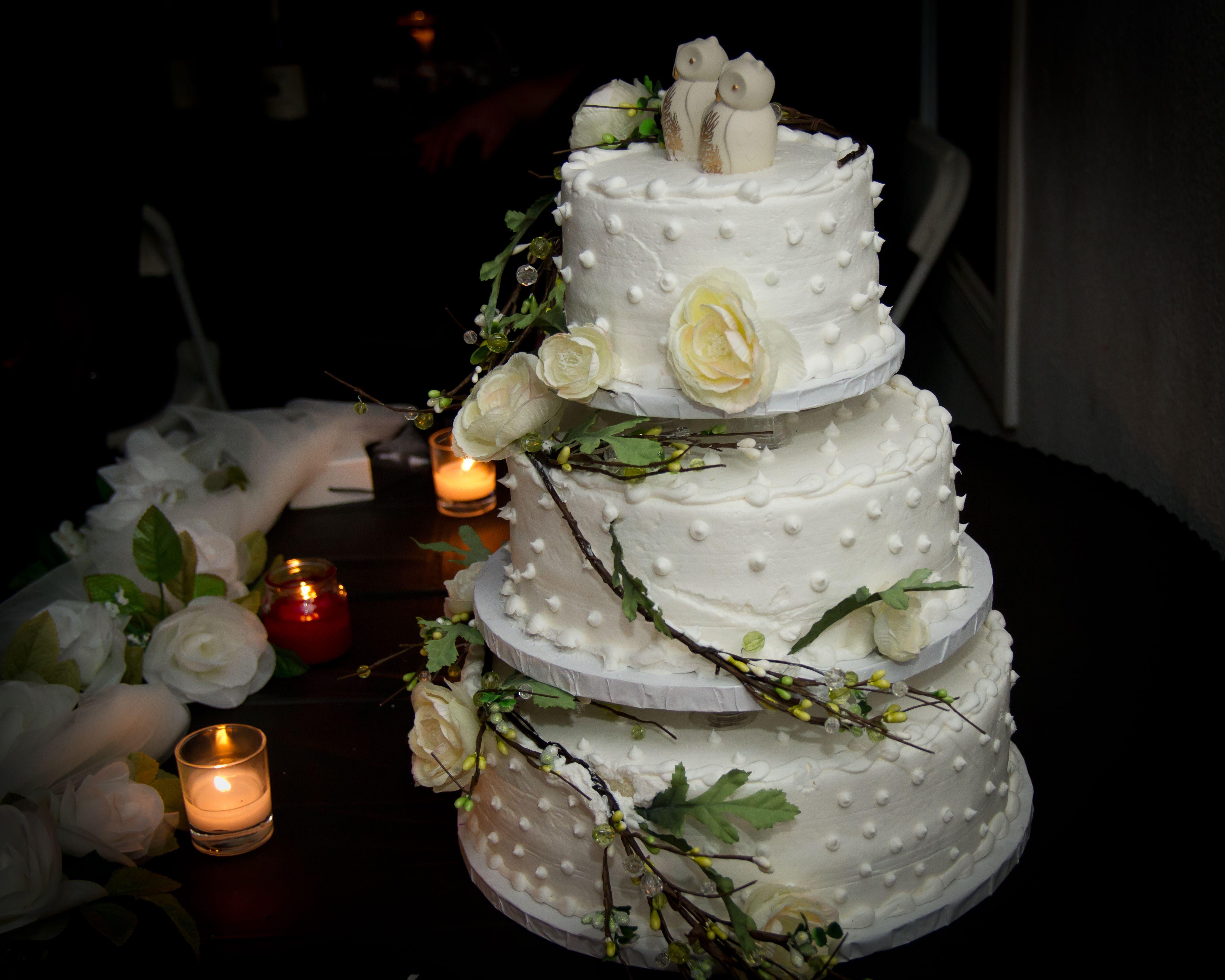 My Owl Wedding Cake Groovy Cakes Pinterest
