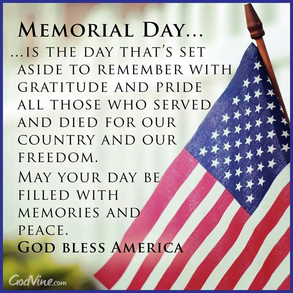 what date is memorial day in may 2014